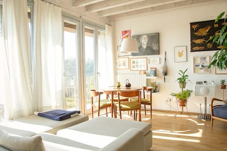 Cozy & sunny apartment in Franciacorta Wine Region - Apartamento