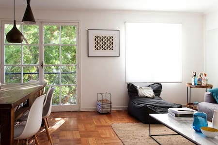 Sunny, Spacious and Best Location - Santiago - Wohnung