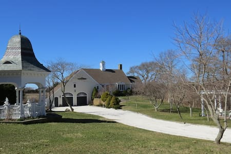 Ocean/Marsh Front 5 bedroom estate - Orleans - Hus