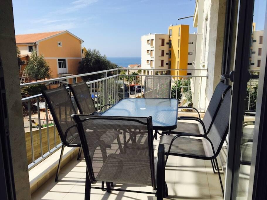 Apartment in Petrovac 2Bedr 2Bathr