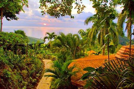 Tulemar Bungalow 111-Ocean view, 1 bdr, Beach - Manuel Antonio - Dom