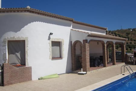 Stunning views. 3 Bed Villa - Iznate - Vila