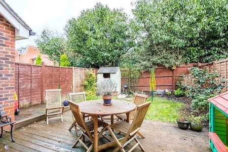 3 bed semi, gated, garage - House