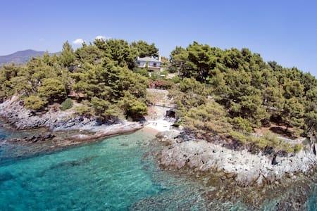 Exclusive Seaside Villa Alkyona - Villa