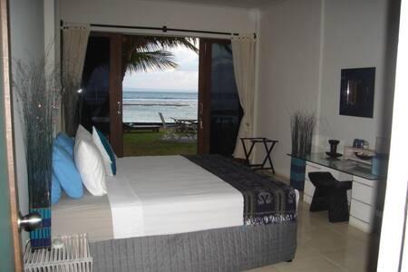 Ocean Front AC Room @ Aquaria Eco Resort - Apartment
