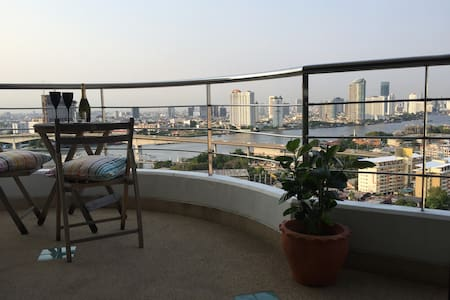 Bangkok's Best Room with a View - bang kho laem, Bangkok - Wohnung