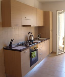 Caulonia Italy modern apartment sleeps 4 with pool - Apartemen