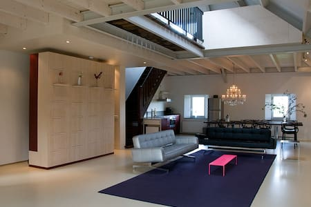 Large stylish loft near Maastricht - Meerssen - Loft