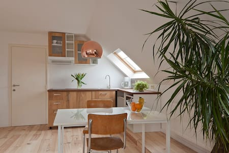 Bright and cosy apt. with bicycles - Wohnung