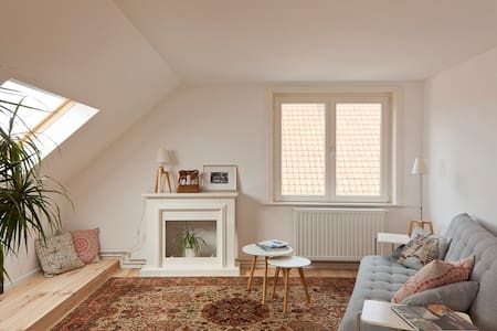 Bright and cosy apt. with bicycles - Gent - Apartment