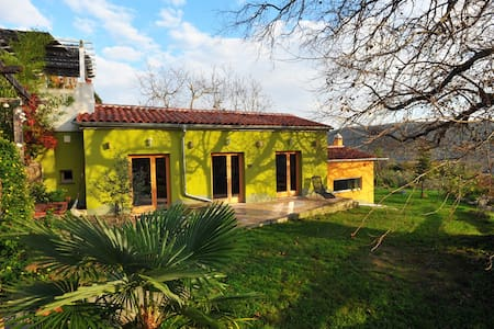 Istrian Ecohouse in Ecovillage & protected habitat - House
