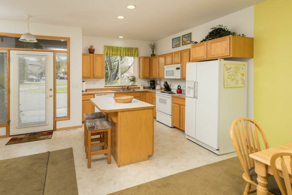 Bright and cheerful kitchen