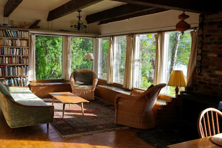 Your Private Retreat on the Beach - Haines - Rumah