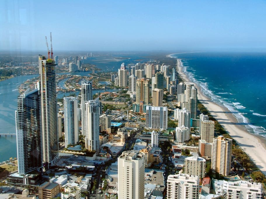 Photo of Surfers Paradise from a high building