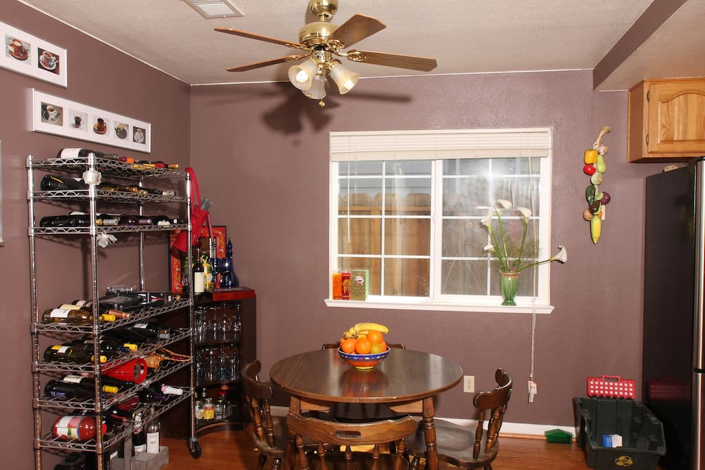 Dining area from another angle