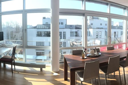 Lofty, light-filled apartment