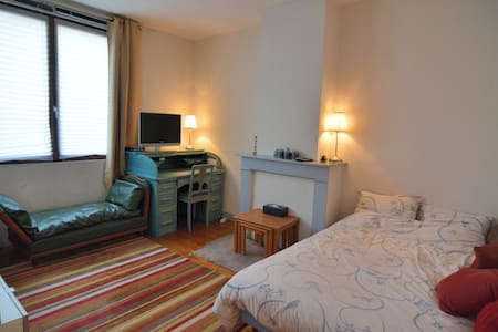 Quite, light room near downtown - Lille - Bed & Breakfast