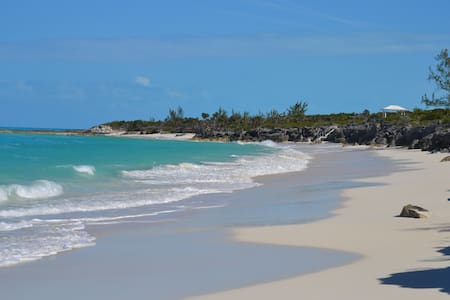 White Sand Cottage, Little Exuma - George Town - Haus