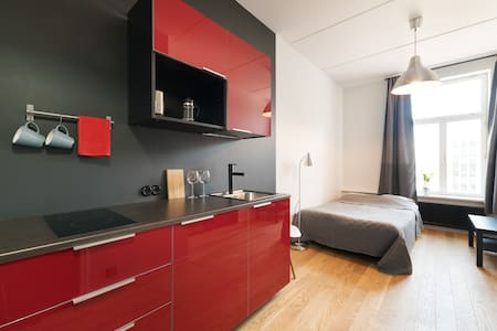 Stylish studio next to old town & harbour - Wohnung