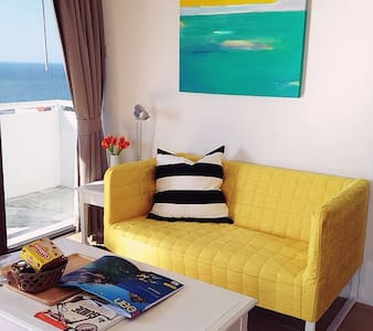 Sea view studio 1401 Bed & Beach - Flat