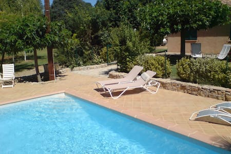 Calme et nature à Olivette /piscine - Entrecasteaux - Casa