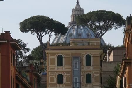 Ladybug House just behind Vatican
