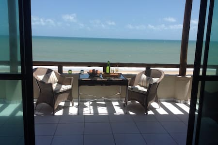Apartment right on the beach - Caucaia