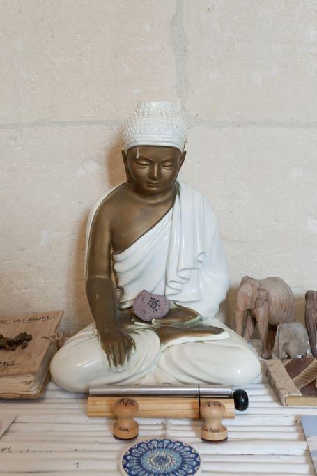 Because Buddha takes care of you while you sleep...