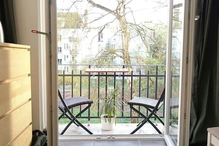 Ruhig gelegenes Zimmer mit Balkon