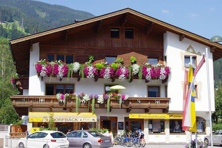 Geräumige Wohnung -  zentrale Lage - Aschau im Zillertal - Appartement
