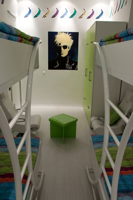 Pop Art Hostel - 4 beds room
