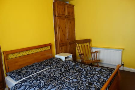 The double room is ideal for two persons visiting Dublin.  The shared flat is furnished. Just 30 minutes walk or by bus in 10 minutes to the city center. If you have any questions, contact me.