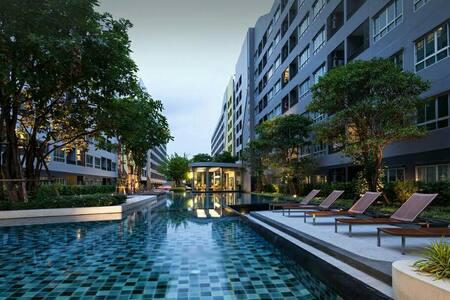 Elio condo, sukhumvit64, near BTS - Bangkok - Apartment
