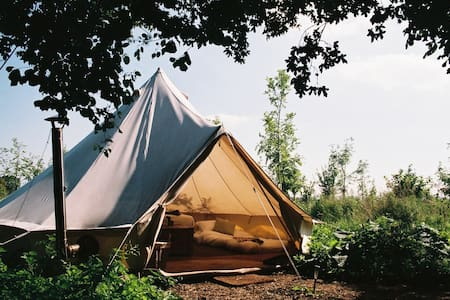 Glamping near Bath with indoor pool - 帳篷