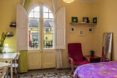 Centric sunny doubleroom & balcony - Barcelona - Apartment