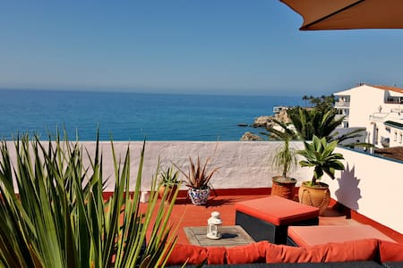 Seaview Apartment at beautiful Carabeo 78 - Nerja - Lägenhet