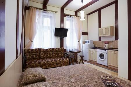 Уютная квартира-студия в центре Львова - Byt