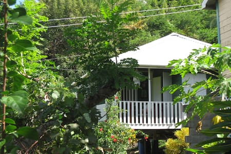 The Parrot, Bequia, Lower Bay Beach - Cabin
