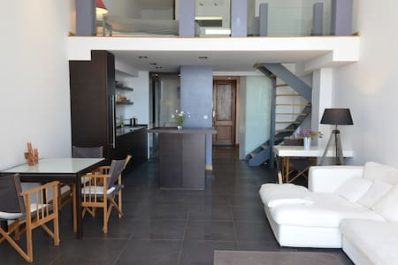 Loft apart. near MONTE CARLO & WiFi - Apartment