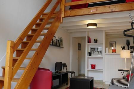 Beau duplex calme en hyper centre - Apartament