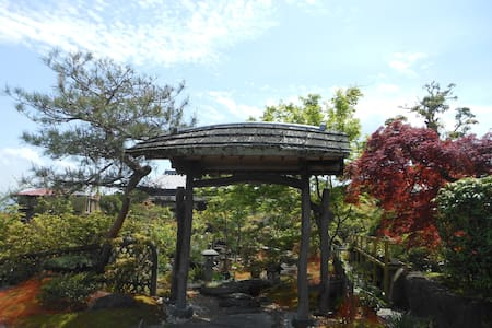 中将姫ゆかりの地、當麻 Sumo birthplace. - House
