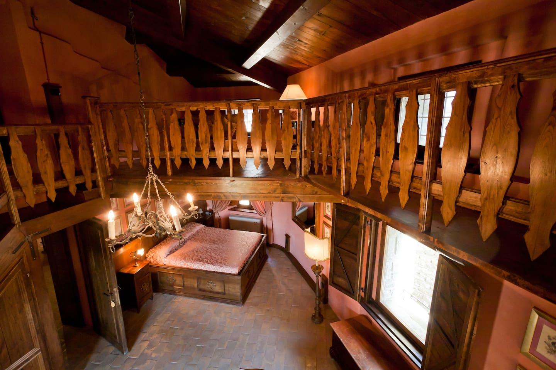 Castello di Petroia- De-luxe room
