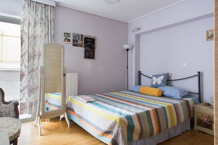 Elegant room in new appartment close to the center - Apartment