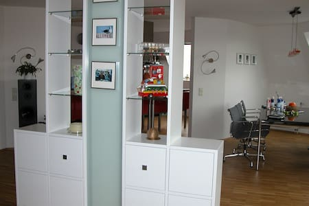Room in Penthouse Apartment Aachen