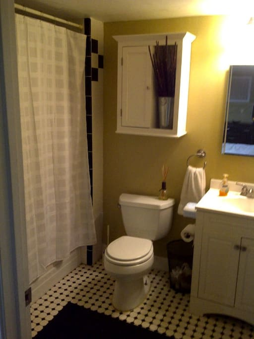 Private Bath w/ Jacuzzi Tub