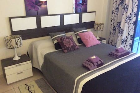Nice flat &2 bed-rooms&pool&comfort - Appartement