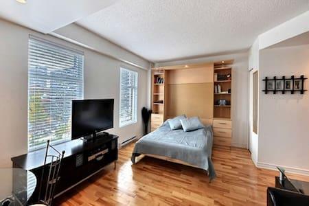Studio for 2 downtown Mtl - Montréal - Apartment