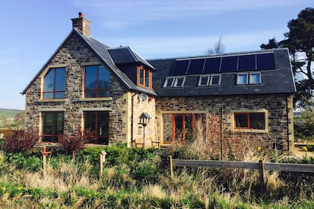 Eco House in the Scottish Borders. - Jedburgh