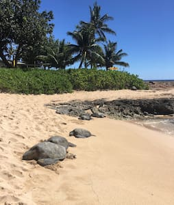 NEW Guest home beside turtle beach - Waianae - Bungalow