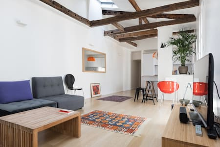 Large 1 bedroom flat in le Marais
